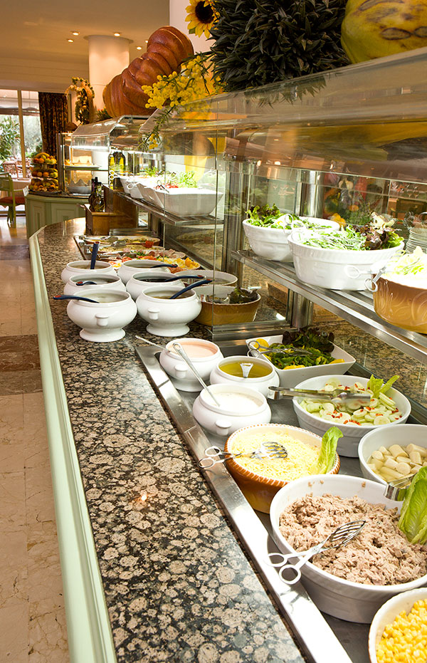 Buffet fra All Inclusive rejse